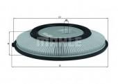 MAHLE LX 724 воздушный фильтр