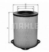 MAHLE LX 832 воздушный фильтр
