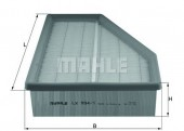 MAHLE LX 934/1 воздушный фильтр
