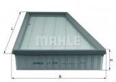 MAHLE LX 998 воздушный фильтр