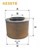 WIX 42357E воздушный фильтр