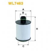 Wix WL7463 масляный фильтр