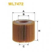 Wix WL7472 масляный фильтр