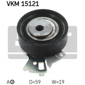 Skf VKM 15121 Натяжной ролик ременя ГРМ Aveo 1.4/1.5 SKF