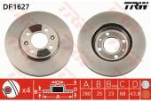 Trw DF1627 Тормозной диск