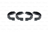 Bosch 0 986 487 734 Тормозные колодки барабанные Nissan X-trail,Qashqai , Renault Koleos, Toyota Rav-4