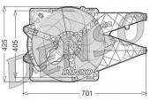 Denso DER09101 Вентилятор