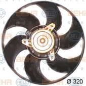 Hella 8EW 351 044-161 Вентилятор