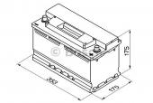 Bosch S3 Silver 88 Ач -/+ 740A Аккумулятор автомобильный