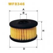 Wix WF8346 фильтр топливный