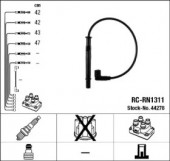 NGK 44278 Комплект высоковольтных проводов