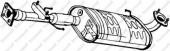BOSAL 279-589 Выхлопная труба средн.
