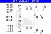 Ate 03.0137-9281.2 К/т монтажный колодок