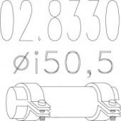Mts 02.8330 Муфта вихлопної системи