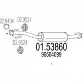 Mts 01.53860 Резонатор