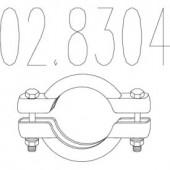 MTS 02.8304 Хомут вихлопної системи