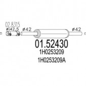 Mts 01.52430 Резонатор