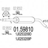 Mts 01.59810 Резонатор