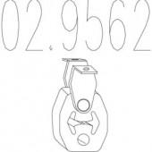 MTS 02.9562 Гумовий елемент кріплення