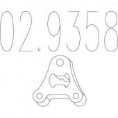 MTS 02.9358 Гумовий елемент кріплення