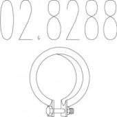 Mts 02.8288 Хомут вихлопної системи