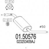 Mts 01.50576 Резонатор