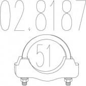 Mts 02.8187 Хомут вихлопної системи