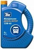ТНК Минеральное моторное масло ТНК Diesel Motor 15W-40