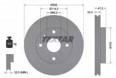Textar 92133600 Тормозной диск передний LACETTI TEXTAR