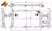 Nrf 53415 Радиатор охлаждения двигателя EASY FIT