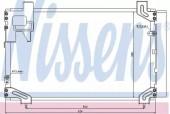 Nissens 940020 Радiатор кондицiонера