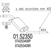 Mts 01.52350 Резонатор