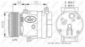 Nrf 32102 Компрессор кондиционера