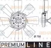 Hella 8MV 376 728-371 Вентилятор