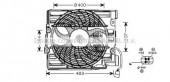Ava BW7510 Вентилятор (комплект)