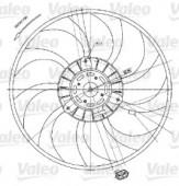 Valeo 698424 Вентилятор, охлаждение двигателя