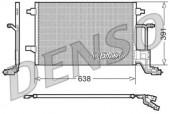 Denso DCN02014 Радiатор кондицiонера