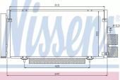 Nissens 94885 Радиатор кондиционера
