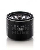 MANN-FILTER W 1114/80 масляный фильтр