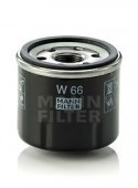 Mann Filtes W 66 масляный фильтр