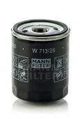 MANN-FILTER W 713/28 масляный фильтр