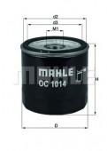 MAHLE OC 1014 масляный фильтр