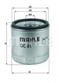 MAHLE OC 91D1 масляный фильтр