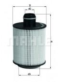 MAHLE OX 553D масляный фильтр