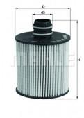 MAHLE OX 779D масляный фильтр