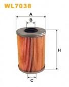 WIX WL7038 масляный фильтр