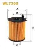 WIX WL7305 масляный фильтр