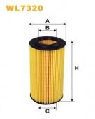 WIX WL7320 масляный фильтр