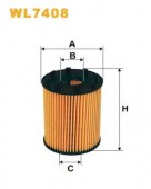 WIX WL7408 масляный фильтр