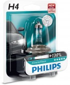 Philips X-tremeVision H4 12V 60/55W ��������� �������, 1��
